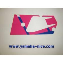 Embleme autocollant cache latérale gauche origine YAMAHA YZ 250 1991