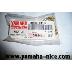 Vis avec rondelle de boitier compteur origine YAMAHA XTZ 750 de 1993 / FJ 1200 de 1986 à 1992