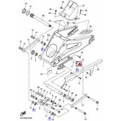 Roulement de bras arrière Yamaha XT660 2008 2012