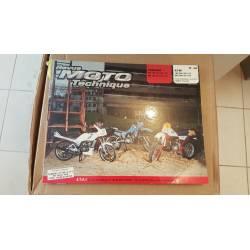 Revue Moto Technique ETAI N°48 Yamaha DT125LC de 1982 à 1983 et RD125LC de 1982 à 1984