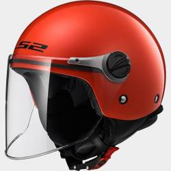 Casque LS2 Wuby Rouge